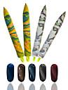 1st söt nail art magnetisk penna nail art målning penna för spik skönhet DIY nail art manikyr verktyg slumpmässiga leverans