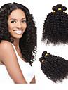 Human Hår vävar Peruanskt hår Sexigt Lockigt 1 st. hår väver