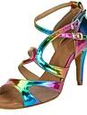Salsa-Pantofi de dans(Curcubeu) -Personalizabili-Damă