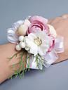 Flori de Nuntă Formă liberă Trandafiri Bujori Corsaj de mână Nuntă Petrecere / Seară Satin