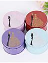 12 Piesă/Set Favor Holder-Cilindru Fier (placat cu nichel) Cutii de Savoare Sticle și Borcane pentru Dulciuri Cutii de Cadouri