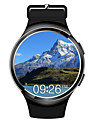 Montre Bluetooth Smart Android 5.1 mtk6580 quad core 1gb8gb frequence cardiaque SmartWatch horloge pour ios android