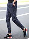 Bărbați Picior Larg Simplu Talie Medie,Micro-elastic Pantaloni Chinos Pantaloni Mată