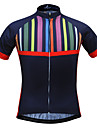 JESOCYCLING Maillot de Cyclisme Femme Manches courtes Velo MaillotSechage rapide Resistant aux ultraviolets Respirable Materiaux Legers