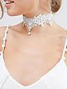 Coliere Fără piatră Coliere Choker Bijuterii Nuntă Ocazie specială Halloween Logodnă Design Basic Design Unic Personalizat Dantelă 1 buc