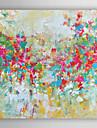 Pictat manual Abstract Pătrat,Modern Un Panou Canava Hang-pictate pictură în ulei For Pagina de decorare
