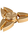 Toupies Fidget Spinner a main Jouets Tri-Spinner Metal Aluminium EDCPour le temps de tuer Focus Toy Soulagement de stress et l\'anxiete