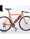 Velos engins fixes Cyclisme Autres 26 pouces/700CC Frein en V Sans Amortisseur Cadre en Alliage d\'Aluminium Sans AmortisseurPedale avec