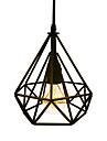 Lampe suspendue ,  Rustique Retro Peintures Fonctionnalite for Style mini Metal Cuisine Salle a manger Entee Salle de jeux Couloir1