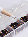 2500 Manucure De oration strass Perles Maquillage cosmetique Nail Art Design