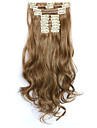 A Clipser Fibre synthetique Extensions de cheveux Extension des cheveux