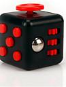 ångest reliever fidget dice kubisk kub rastlösa leksaker för fokusering / avstressande abs - svart&röd