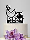 Tortenfiguren & Dekoration individualisiert Acryl Hochzeit Jublilaeum Brautparty Garten Thema Klassisches Thema OPP