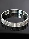 Dame Bijuterii de corp Lănțișor Picior La modă Cristal Aliaj Auriu Argintiu Bijuterii PentruNuntă Petrecere Ocazie specială Logodnă