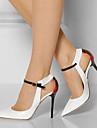 Femme-Bureau & Travail Habille Soiree & Evenement--Talon Aiguille-club de Chaussures-Chaussures a Talons-Polyurethane