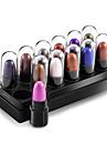 12 couleurs pigmento maquiagem glitter yeux maquillage ombre a paupieres impermeable a l\'eau shimmer eye shadow sets cosmetiques