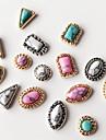 10pcs melange style melange de retour de couleur a l\'antiquites bijoux ongles art decoration