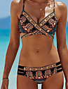 Dame Poliester Cu Bretele,Bikini Floral Boho Geometric