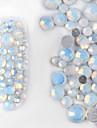 800 pieces / set perles en strass colorees decoration 3D maquillage ongle art design