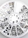 4size 3d decorations d\'art ongles acrylique diamant formes strass aux ongles accessoires d\'art