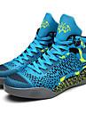 Bărbați Adidași de Atletism Primăvară Vară Pantofi de cuplu Materiale Personalizate Outdoor Atletic Toc Plat DantelăNegru și Auriu Rosu