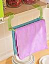 1 st sömlös pasta perforering fri handdukshängare hängande handduk köks toalett handdukshängare slumpmässig färg