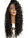 Femme Perruque Naturelle Dentelle Bresiliens Cheveux humains Lace Front Sans Colle Lace Front 130% Densite Avec Meches Avant Frises