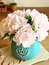 5 Pieces 5 Une succursale Soie Pivoines Fleur de Table Fleurs artificielles