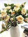 10 ramură Mătase Gardenie Față de masă flori Flori artificiale