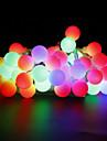 W Guirlandes Lumineuses lm AC220 AC 110-130 10 m 100 diodes electroluminescentesBlanc chaud Blanc Rouge Jaune Bleu Incarnadin Plusieurs