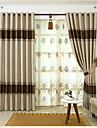 Tratamentul fereastră Dungi Sufragerie Material Blackout Perdele Draperii Pagina de decorare For Fereastră