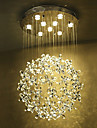 Lampe suspendue ,  Traditionnel/Classique Peintures Fonctionnalite for LED MetalSalle de sejour Chambre a coucher Salle a manger
