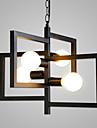 Lampe suspendue ,  Contemporain Rustique Retro Peintures Fonctionnalite for Mat Designers MetalSalle de sejour Chambre a coucher Salle a
