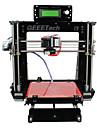 geeetech 8mm acril Prusa reprap Mendel i3 imprimantă 3D DIY kit 1,75 mm cu incandescență / duză 0.3mm