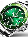 Bărbați Ceas Sport Ceas Elegant Ceas La Modă Ceas de Mână Unic Creative ceas Ceas Casual Chineză Quartz Calendar Rezistent la ApăOțel