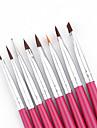Set de manucure aux ongles pinpai 8pcs stylo a manucure francais phototherapie stylo a acrylique en acrylique stylo a peinture