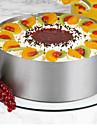 26Andra Cake Moulds Rund Nyhet Tårta För köksredskap Stål Rostfritt StålMultifunktion Teflonbehandlad Bakning Verktyg Hög kvalitet