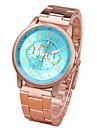 Pentru femei Bărbați Ceas La Modă Ceas de Mână Quartz Aliaj Bandă Casual Auriu