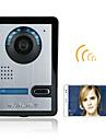 720p wireless wifi video ușă telefon usa interfon sistem noapte de vizibilitate camera impermeabila cu capac de ploaie