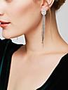 Pentru femei Cercei Picătură Cercei Bijuterii Statement bijuterii de lux Elegant Lung Galaxie La modăArticole de ceramică Diamante