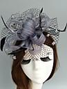 In Net Diadema-Nuntă Ocazie specială Pălărioare Pălării/Căciuli Voaluri Plasă 1 Bucată