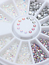 Manucure De oration strass Perles Maquillage cosmetique Nail Art Design