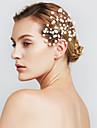 femei agrafelor bijuterii perla floare de păr pentru petrecerea de nunta (set de 6)