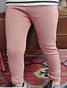 Fete Pantaloni 纯色 Bumbac Primăvară