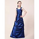 Lanting Bride® Do poda Taft Haljina za malu djeverušu A-kroj / Princeza Naramenice Prirodni struk s Drapirano sa strane / Nabori