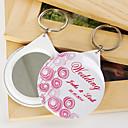 personalizirane ogledala privjeska - pink balona (set od 12)