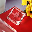 presentes da dama de honra presente de cristal personalizado exibição tabela lembrança