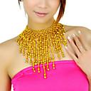 polystyren s obruby břišního tance náhrdelník více barev k dispozici