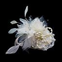 Žene Saten / Pero Glava-Vjenčanje / Special Occasion Fascinators / Cvijeće