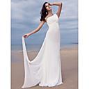 Lanting Bride® Kroj uz tijelo Sitna / Veći brojevi Vjenčanica - Šik i moderno / Glamurozno i izražajno Jako kratki šlep Na jedno rame